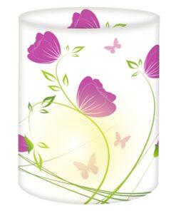 Ursus Mini-Tischlicht Mohnblumen, zum Basteln