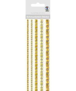 Ursus Bordüren-Sticker in gelb