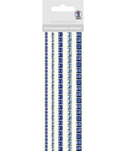 Ursus Bordüren-Sticker in blau