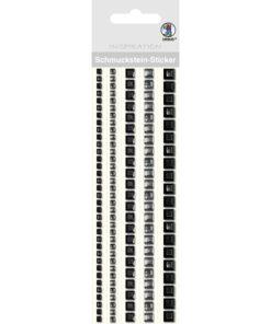 Ursus Bordüren-Sticker in schwarz
