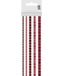 Ursus Bordüren-Sticker in rot