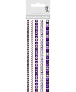 Ursus Bordüren-Sticker in violett