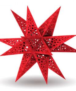 "Modena-Stern ""Stars"" weinrot"
