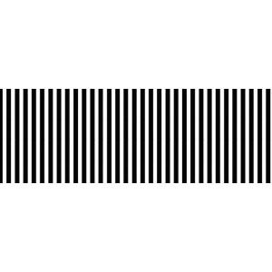 Ursus Streifen-Fotokarton mini, A4, schwarz