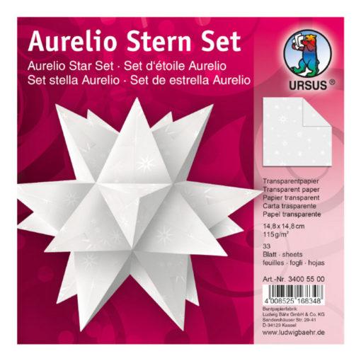 Ursus Aurelio-Stern Transparentpapier White-Line, Sterne