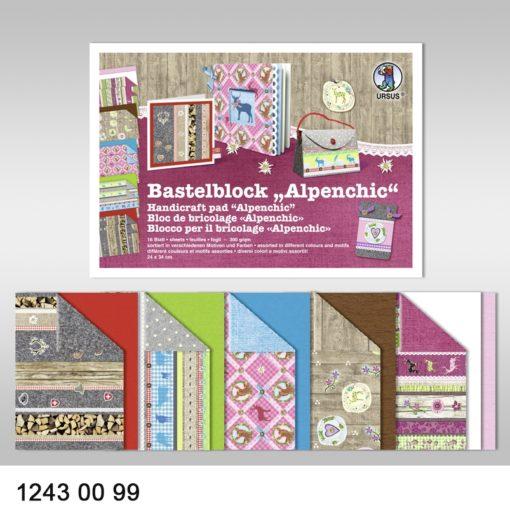 Ursus Bastelblock Alpenchic