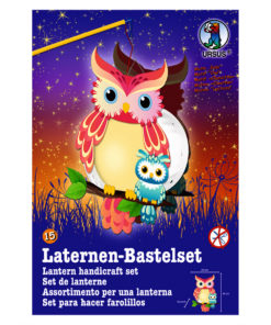Ursus Laternen-Bastelset, Easy Line, Eule