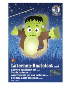 Ursus Laternen-Bastelset, rund, Monsterchen