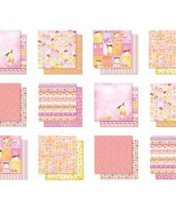 Scrapbooking Block Premium Glitter 6
