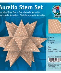 Ursus Faltblätter zum Falten eines Aurelio-Stern