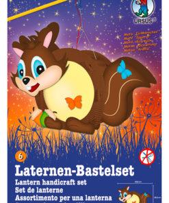 Ursus Laternen-Bastelset, Easy Line, Eichhörnchen