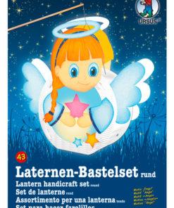 Ursus Laternen-Bastelset, rund, Engel