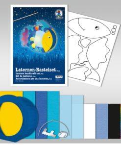 Ursus Laternen-Bastelset, rund, Fisch