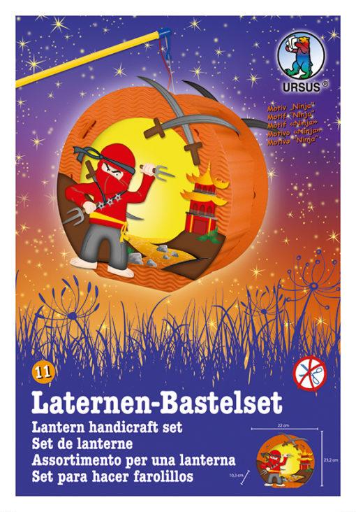 Ursus Laternen-Bastelset, Easy Line, Ninja