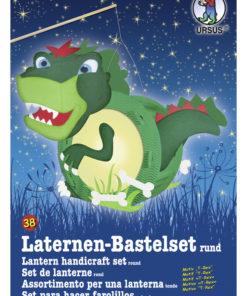 Ursus Laternen-Bastelset, rund, T-Rex