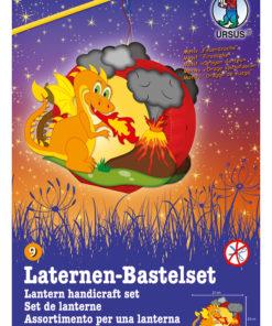 Ursus Laternen-Bastelset, Easy Line, Feuerdrache