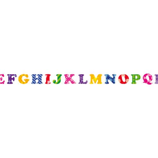 Ursus Masking Tape, Buchstaben