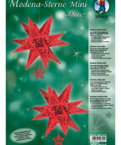 Ursus Modena-Sterne Mini Bastelpackung