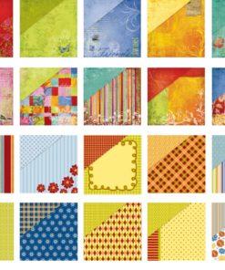 Scrapbooking Block Farbenrausch