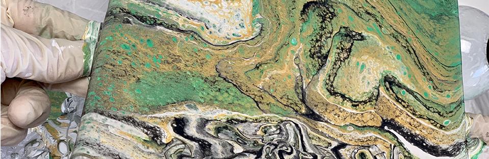 Marabu Pouring Fluid Golden – Vorschaubild