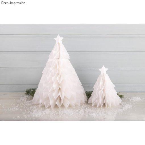 Dekoidee Tannenbäume aus Papiertüten