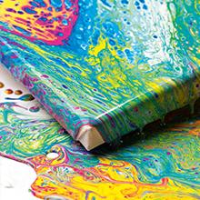Acrylfarben & Sprays