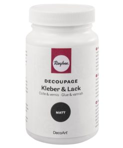 Decoupage Kleber & Lack matt
