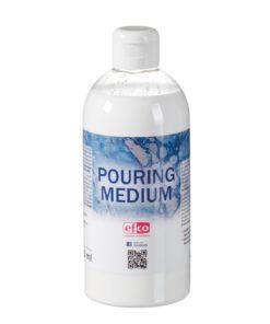 pouring medium dickflüssig