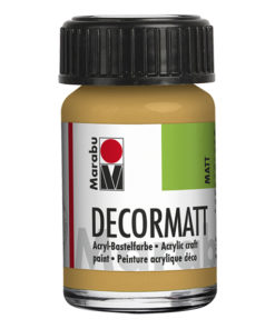 Marabu Decormatt 15 ml metallic-gold