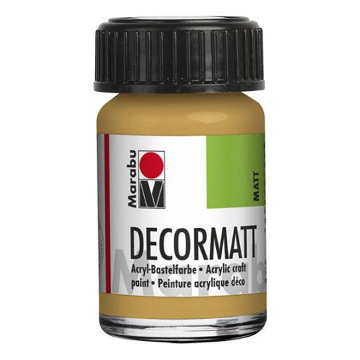 Marabu Decormatt 15 ml metallic-gold