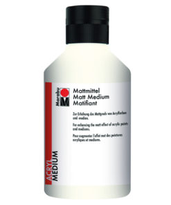 Mattmedium für Acrylmalerei
