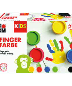 Marabu KIDS Fingerfarben SET 6-Becher