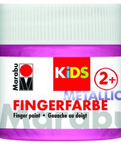 Marabu Fingerfarbe KIDS 733 Metallic-Rosa