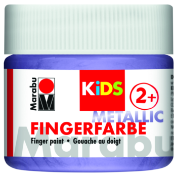 Marabu Fingerfarbe KIDS 750 Metallic-Violett