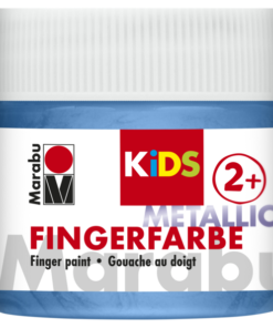 Marabu Fingerfarbe KIDS 752 Metallic-Blau