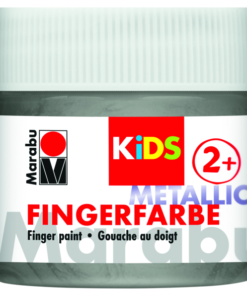 Marabu Fingerfarbe KIDS 752 Metallic-Silber