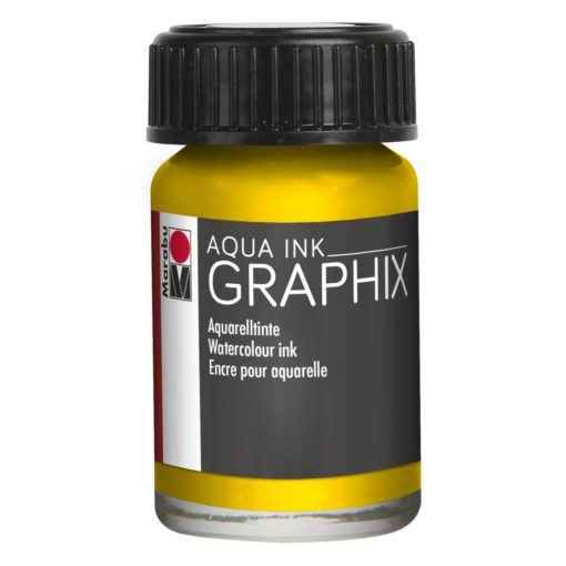 Marabu Aqua Ink Graphix 020 Zitron