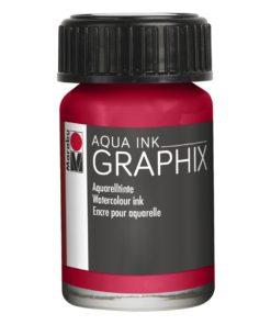 Marabu Aqua Ink Graphix 032 Karminrot