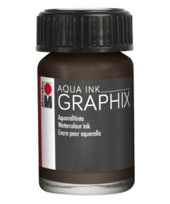 Marabu Aqua Ink Graphix 045 Dunkelbraun