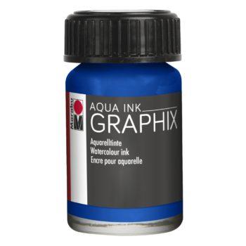 Marabu Aqua Ink Graphix 055 Ultramarinblau dunkel