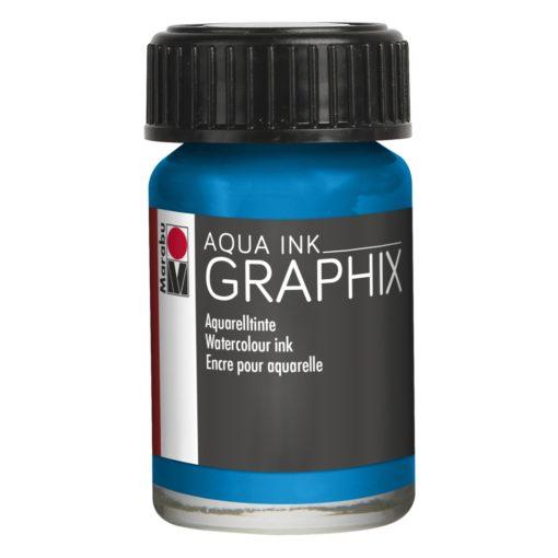 Marabu Aqua Ink Graphix 056 Cyan