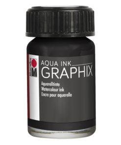 Marabu Aqua Ink Graphix 073 Schwarz