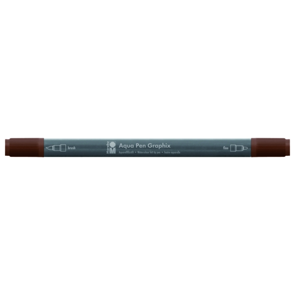 Marabu Aqua Pen Graphix 045 Dunkelbraun