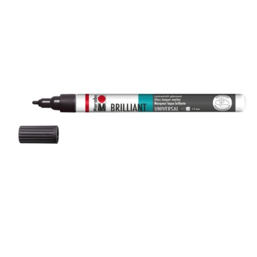 Marabu Brilliant Painter 073 Schwarz 1-2 mm