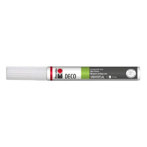 Marabu Deco Painter 070 Weiß 2-4 mm