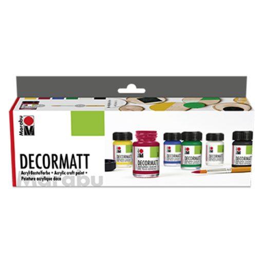 Marabu Decormatt Acryl Starter-Set