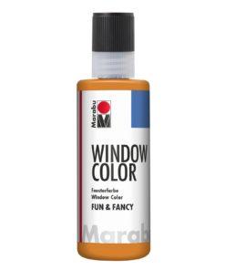 Marabu Window Color fun & fancy 013 orange 80 ml