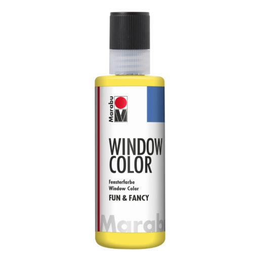 Marabu Window Color fun & fancy 019 gelb 80 ml