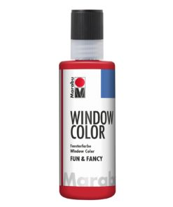 Marabu Window Color fun & fancy 031 kirschrot 80 ml