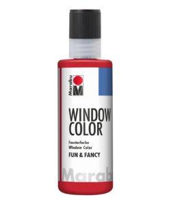 Marabu Window Color fun & fancy 038 rubinrot 80 ml